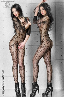 Bodystocking félin - Chilirose