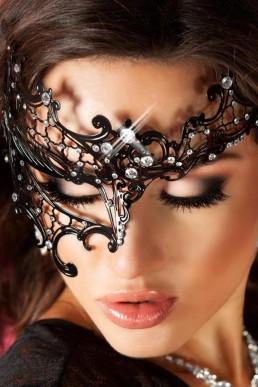 Masque Vénitien modèle 3704 - Chilirose