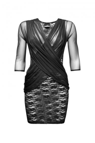 Robe Flirty - Noir Handmade