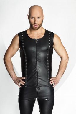 Veste à rivets - Noir Handmade