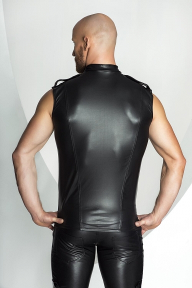 Veste à galons - Noir Handmade