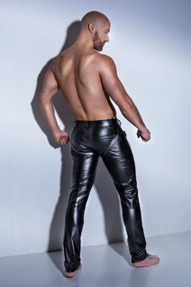 Pantalon harnais - Noir Handmade