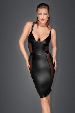 Robe sexy chic décolleté - Noir Handmade