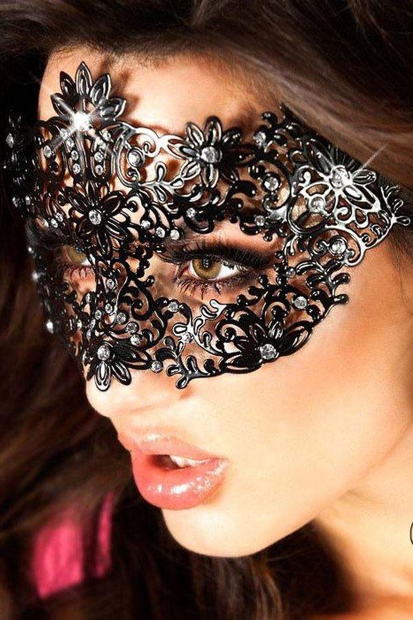 Masque vénitien modèle 3701 - Chilirose