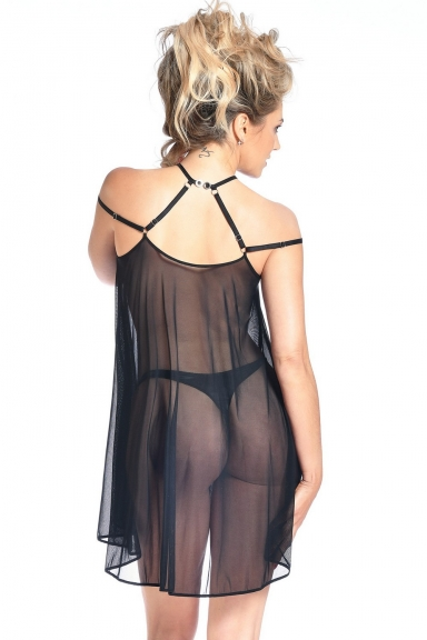 Robe Belladonna noire - Patrice Catanzaro