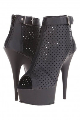 Bottines courtes simili - Pleaser