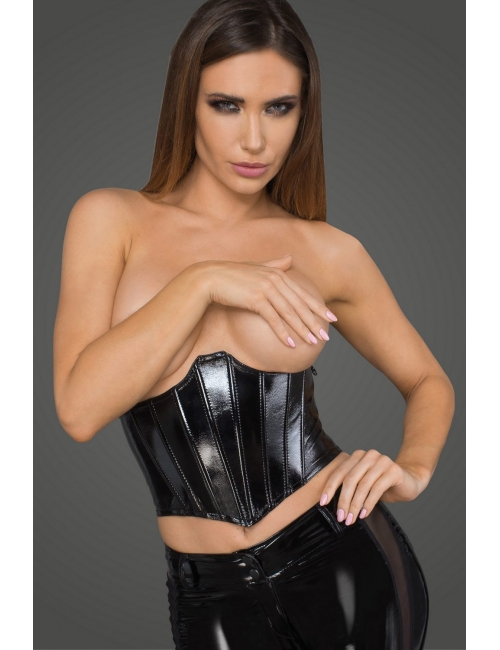 Serre-taille simili cuir - Noir Handmade