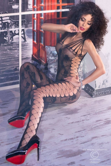 Bodystocking effet laçages - Chilirose