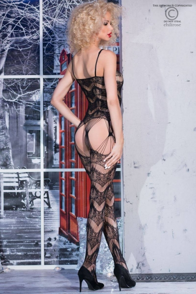 Bodystocking géométrique - Chilirose