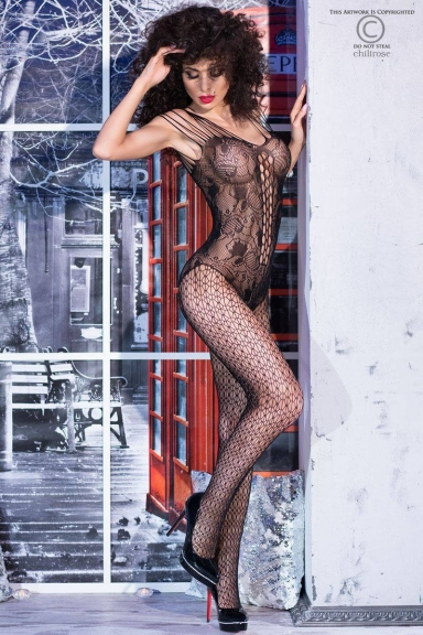 Bodystocking fantaisie effet body - Chilirose