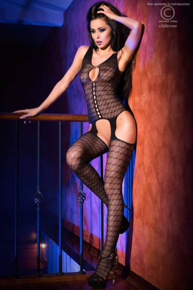 Bodystocking coutures - Chilirose