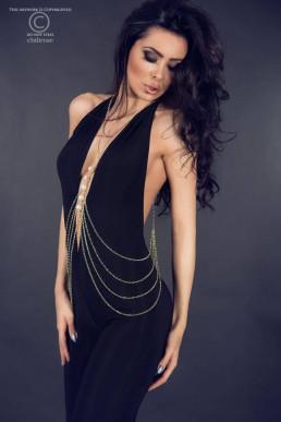 Bijou de corps avec perles - Chilirose