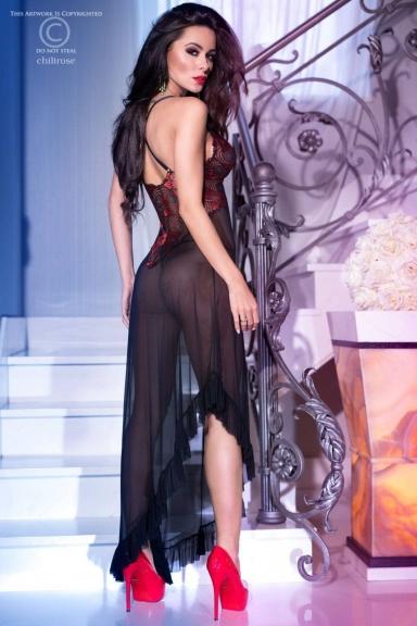 Nuisette longue Flamenco - Chilirose