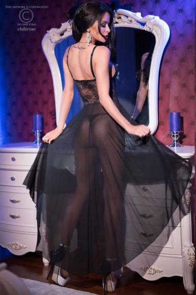 Robe lingerie dansante - Chilirose