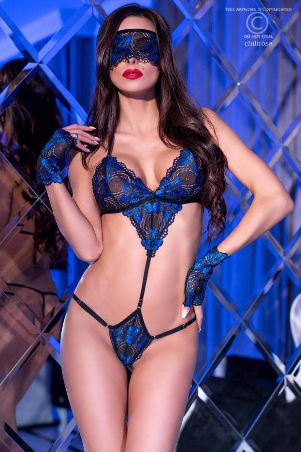 Body Azur avec accessoires - Chilirose