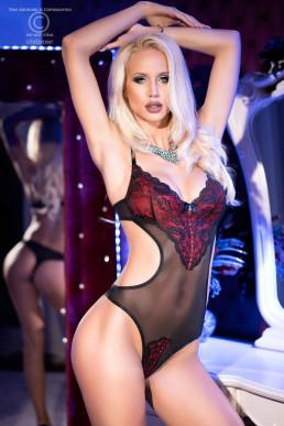 Body glamour bicolore - Chilirose