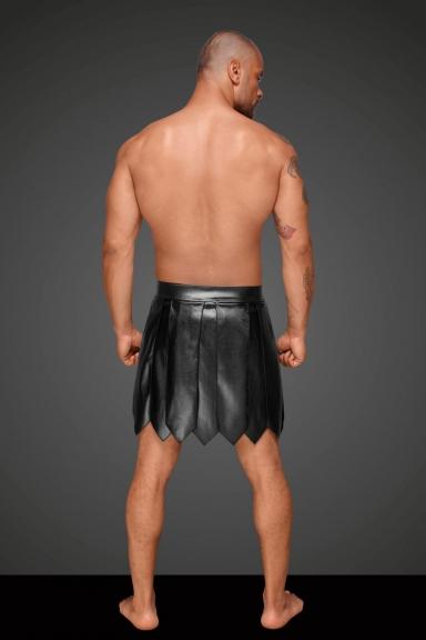 Jupe gladiateur homme - Noir Handmade