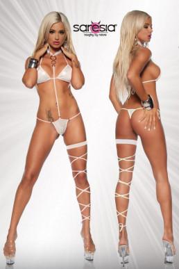 Ensemble bikini avec jambière - Saresia