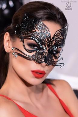 Masque vénitien de chat - Chilirose