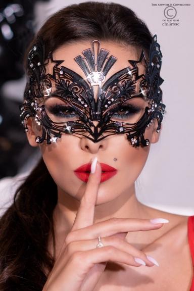 Masque vénitien étoile filante - Chilirose