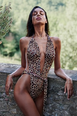 Maillot léopard Cancunella - Obsessive