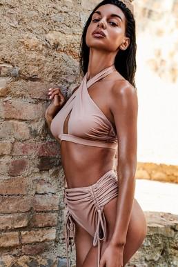 Bikini taille haute Hamptonella - Obsessive
