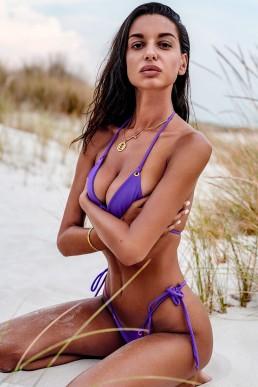 Bikini string violet - Obsessive