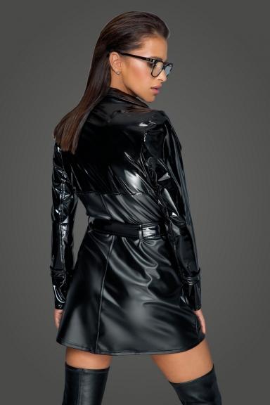 Trench coat tendance - Noir Handmade