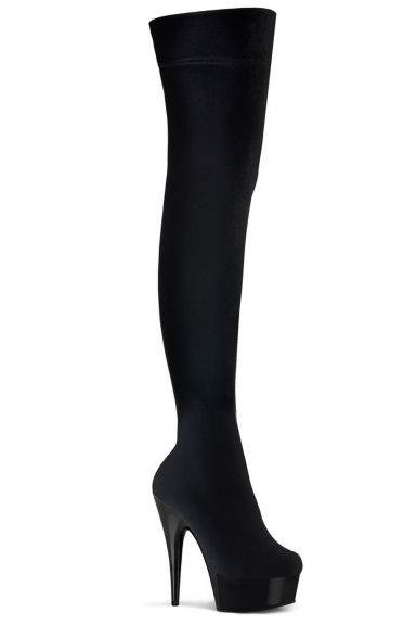 Cuissardes stretch noires - Pleaser