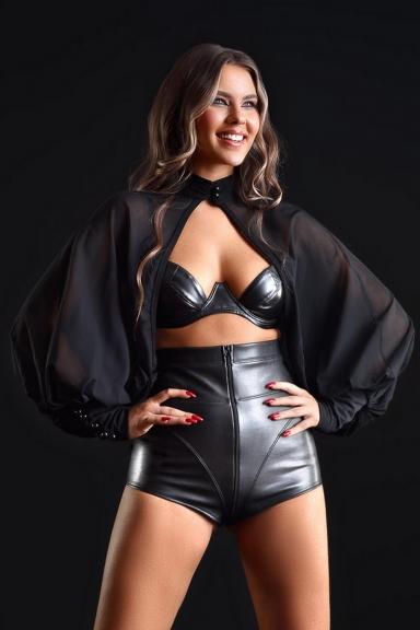 Short Jenna simili cuir - Patrice Catanzaro